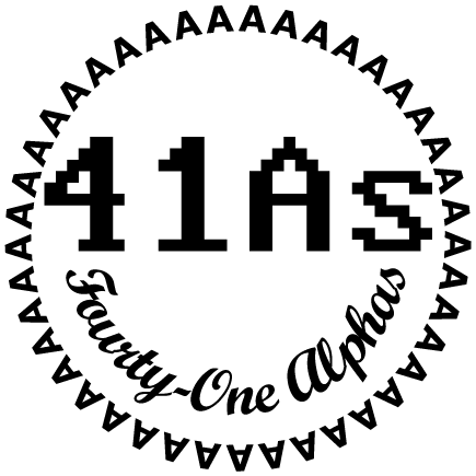 41As - Fourty-One Alphas